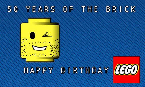 happy birthday lego